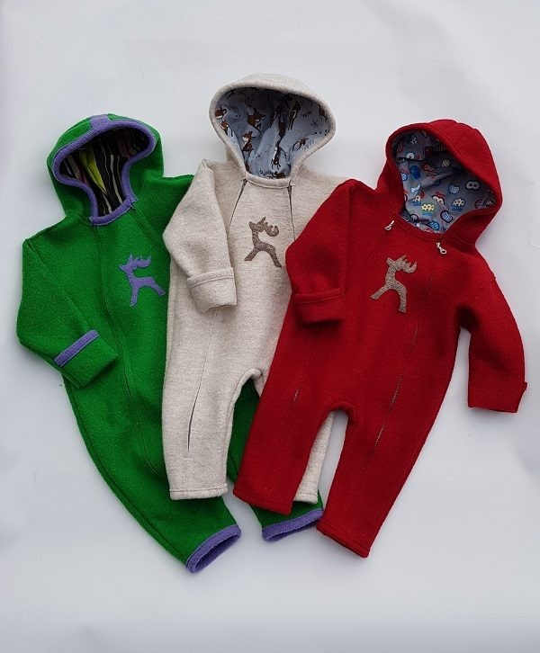 Wollwalk Baby Overall