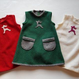 Wollwalk Kinderkleid