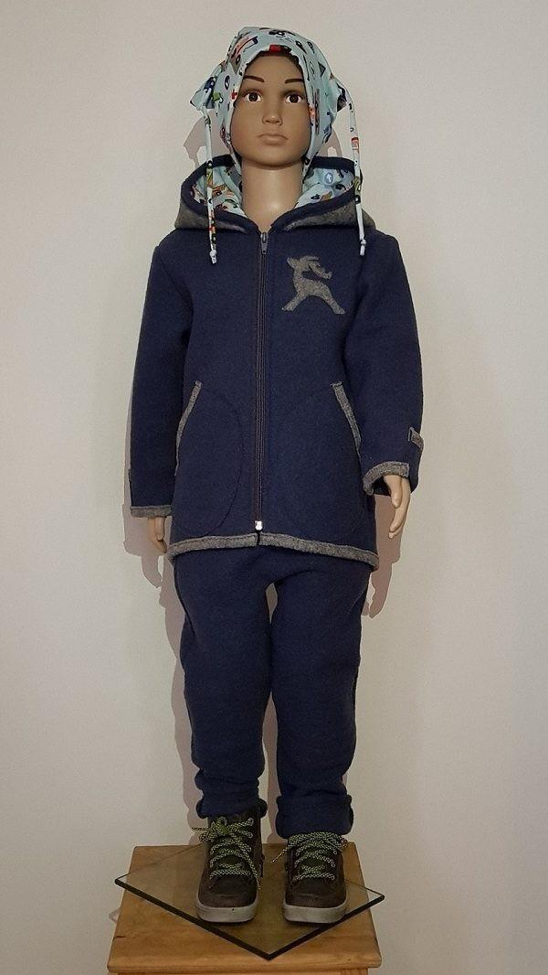 Wollwalk Kinderkombi Jacke und Schlumpfhose