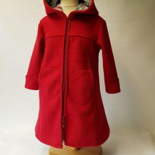Wollwalk Mädchen Kinder Mantel