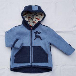 kinderjacke blau